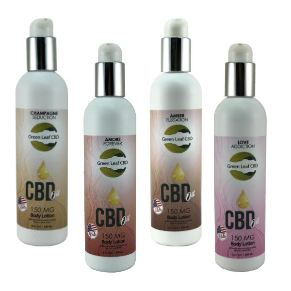 CBD Body Lotion - Green Leaf CBD