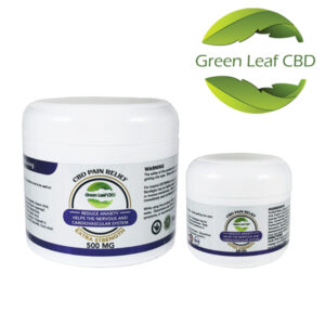 CBD Pain Relief - Green Leaf CBD