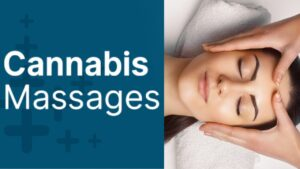 Cannabis Massage with CBD Body Lotion